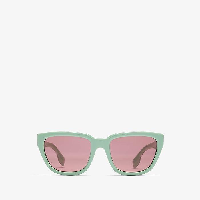 Burberry  0BE4277 (Green/Dark Violet) Fashion Sunglasses