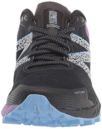 New Balance Women's Summit Unknown V2 Running Shoe, Black/Neo Violet, 5.5 W US