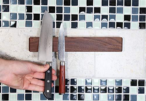 Walnut Magnetic Knife Holder