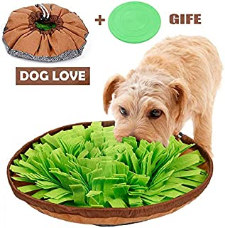 ALOYA Snuffle Mat,Dog Snuffle Mat,Nosework for Dogs Large Small Pet Treat Interactive Puzzle Dispenser Toys Machine Washable