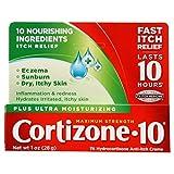 Cortizone 10 Plus Anti-Itch Cream - 1 oz