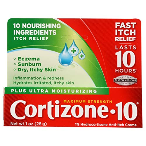 Cortizone 10 Plus AntiItch Cream  1 oz