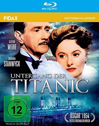Untergang der Titanic / Berühmter Hollywood-Klassiker mit Starbesetzung in brillianter HD-Qualität (Pidax Film-Klassiker) [Blu-ray]