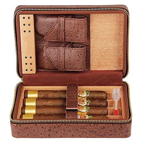 N\C Humidificateur de cigares de Voyage, boîte d