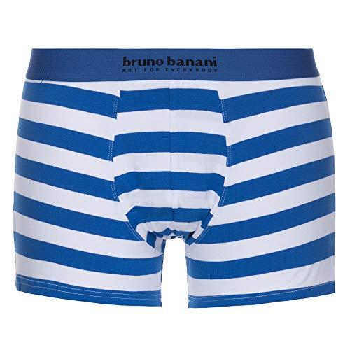bruno banani Herren Sailor Short, blau/weiß Stripes, M