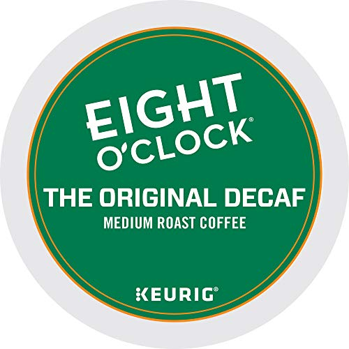 Eight O'Clock Coffee The Original Decaf, Single-Serve Keurig K-Cup Pods, Medium Roast Coffee, 72 Count