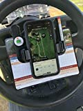 Caddie Buddy Golf Cart Steering Wheel Phone Mount/Scorecard Pro