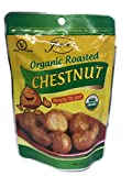 Joycie Organic Whole Roasted and Peeled Chestnuts 3.5-Ounce Bags (Pack of 12)