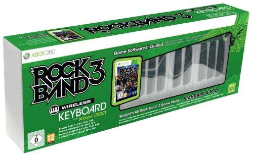 Clavier Pro Rock Band 3 sans fil + jeu Rock Band 3