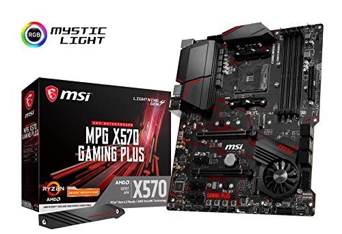 MSI MPG X570 GAMING PLUS ATX マザーボード [AMD X570チップセット搭載] MB4782