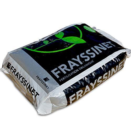 Frayssinet Engrais fruitiers légumes Racines 25 kg UAB. Guanor Super Pro 3-6-12
