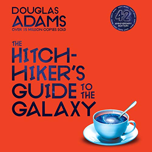 Hitchhiker's Guide to the Galaxy cover art