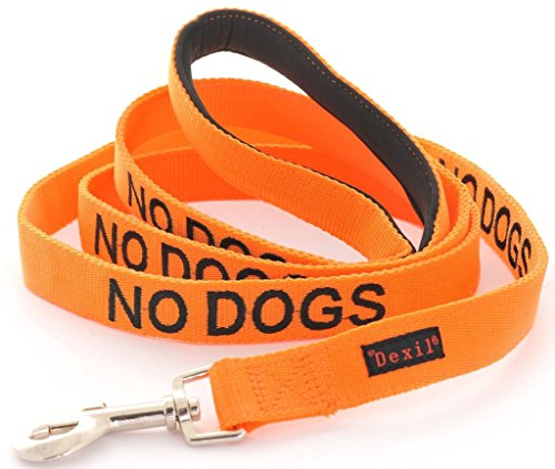 NO Dogs Dexil Friendly Dog Collars Color Coded Dog Accident