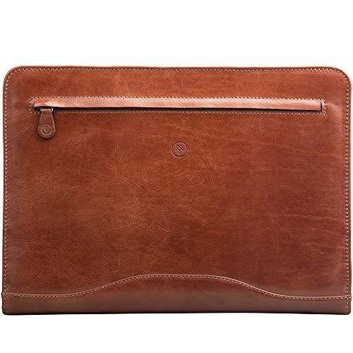 Maxwell Scott Luxury Leather Conference Folder