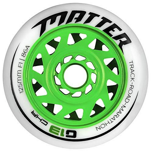 Matter G13 CHR 125 mm F1 (86a) Speedskating-Inline-Skate-Rolle