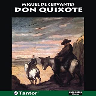 Don Quixote audiobook cover art