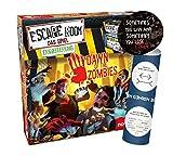 Escape Room: Das Spiel Expanung - Set de ampliación de juego (Dawn of The Zombies, 2 pegatinas de salida y 1 póster de ilusión óptica)