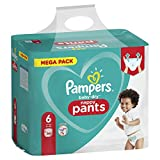 PAMPERS Pantalon Baby-Dry Couches Taille 6 pour +15 kg 72 Unité