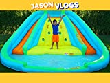 Jason's Inflatable Toy Fun!