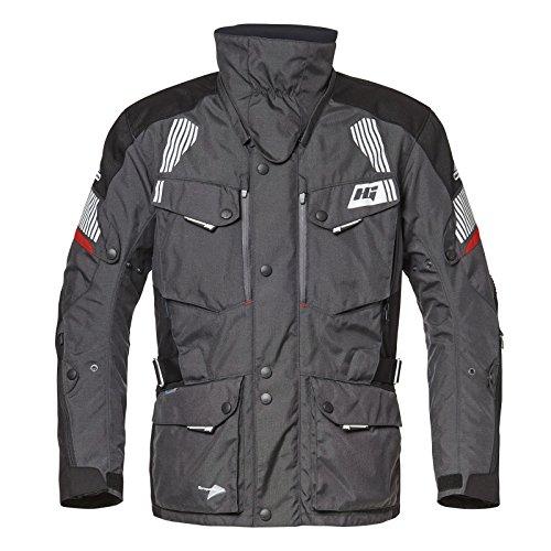 Hein Gericke Voyager Sympatex® Jacke schwarz-anthrazit 60 - Motorradjacke