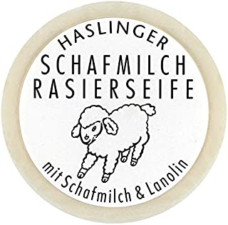 HASLINGER Sheep Milk Shaving Soap, 60 grams