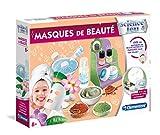 Clementoni- Masques de beauté, 52439, Multicolore