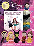 Disney Princess & Villains Crochet Finger Puppets (Crochet Kits)