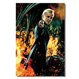 hutianyu Leinwand Wanddruck Tom Felton Draco Malfoy Poster