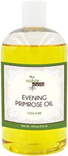 (16 fl oz) Evening Primrose Oil by Noble Roots, for Skin Care, Moisturizing, and Has Been Known to Contain Anti-Inflammatory Properties