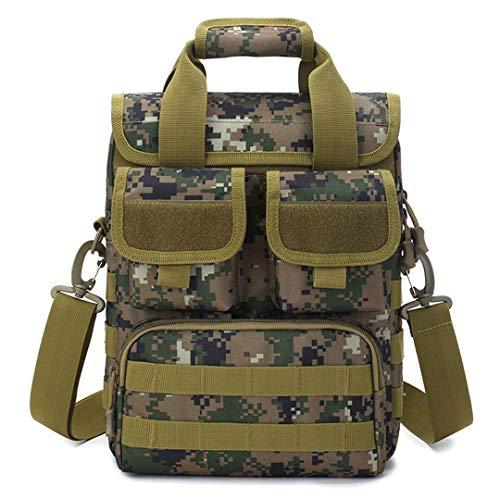 Motorhelay Les Militaires Tactique Messenger Bag Sport Sacs à bandoulière Ceinture Simple imperméable Camouflage Sac à Main d'extérieur Camouflage