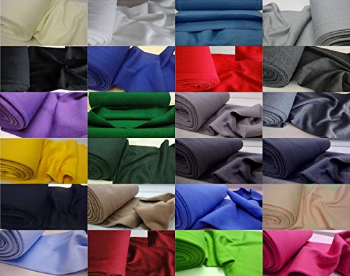 Tela elástica doble para puños y cintura, tubo de punto, 2777 de Fabrics-city