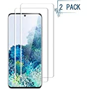 """Luminira Screen Protector Compatible Galaxy S20,Full Coverage Friendly and Bubbles Free Scratchproof Tempered Glass,Easy Installtion Compatible Samsung Galaxy S20 (6.2"""")[2 Pack]"""