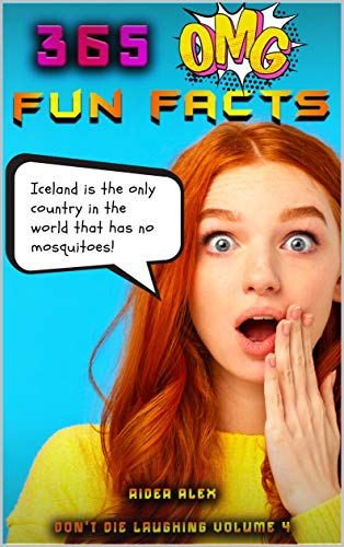 365 OMG Fun Facts: Be a Smooth Cat KING of Trivia (Don't Die Laughing Book 4) (English Edition)