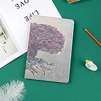 印刷者IPad Pro 11 ケースiPad Pro 11 カバー 軽量 薄型 PUレザー 三つ折スタンド オートスリープ機能 2018年秋発売のiPad Pro 11インチ専用ボケ味を持つ古い植物の水彩画スタイルプリント雄大な根自然