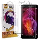 Guran 4 Paquete Cristal Templado Protector de Pantalla para Xiaomi Redmi Note 4 / Note 4X Smartphone 9H Dureza Anti-Ara?azos Alta Definicion Transparente Película