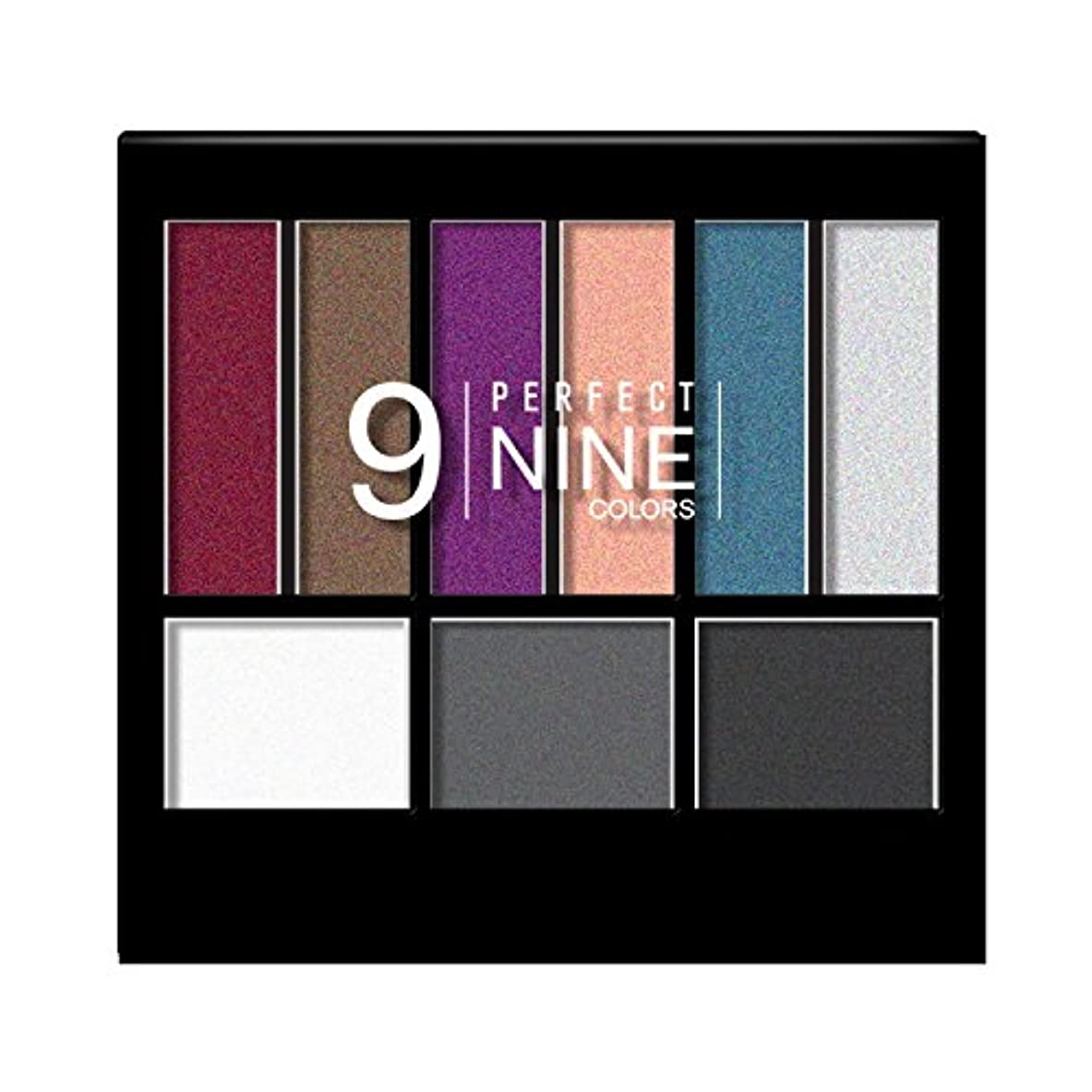 ワゴン原子炉通貨(3 Pack) NICKA K Perfect 9 Eyeshadow Colors - AP017 (並行輸入品)