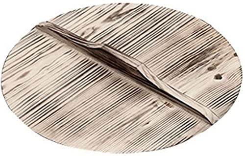Sartén de Hierro Fundido Wok de Hierro Ollas sin Revestimiento Uso General para Cocina de Gas y de inducción 32 cm Wok Chino Utensilios de Cocina Sartén Herramientas de Cocina
