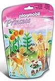 Playmobil - 5353 - Fée de la Forêt avec bébé Pegasus Poussière d'Or