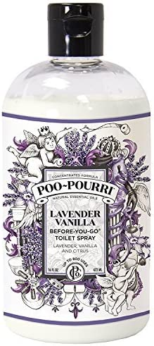 Poo-Pourri Before-You-Go 16 Ounce Lavender Bottle Vanill Refill Clearance SALE Limited Cash special price time