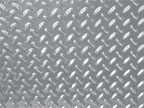 Aluminium-optique-paillasson tôle croisillon, 1100 x 650 mm