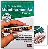 Super einfach Mundharmonika lernen - Lehrbuch mit MP3-CD - HH1034-9783866263734