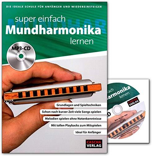 Super Fácil Armónica Aprendizaje – Libro con CD de MP3