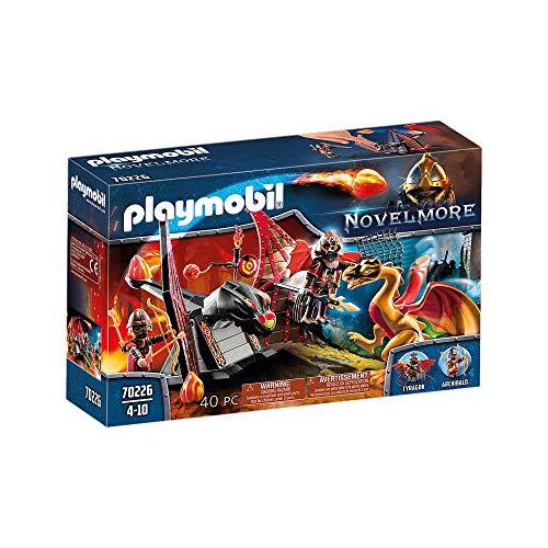 Playmobil - Treino do Dragão dos Bandidos de Burnham