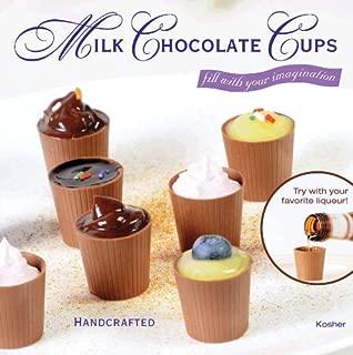 64 Milk Chocolate Dessert Cups Certified Kosher-dairy