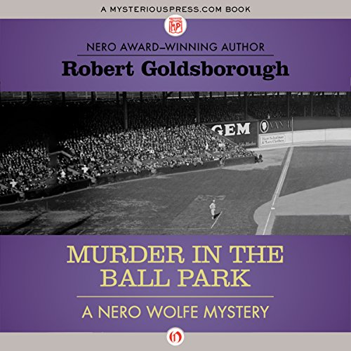 Murder in the Ball Park audiobook cover art