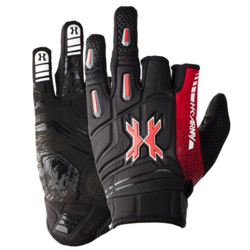 HK Army Paintball 2014 Pro Gloves (Lava, Medium)