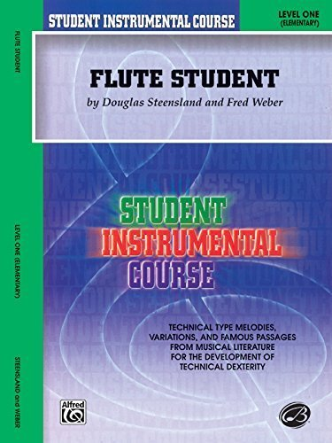 Flute Student 1 (Student Instrumental Course) by Weber, Fred, Steensland, Douglas (February 1, 2001) Paperback