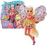 Winx Club Stella | Cosmix Fairy Puppe beweglichen holografischen Flügeln