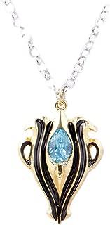 zheFanku Fire Emblem Fates - Azura's Pendant - Imitation Sapphire Necklace