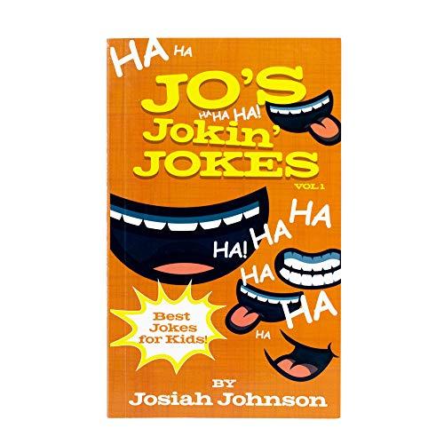 Rapid Brands Jo's Jokin' Jokes | Best Jokes for Kids by Kids | Joke Book for Funny Girls, Boys, and Adults | Volume 1